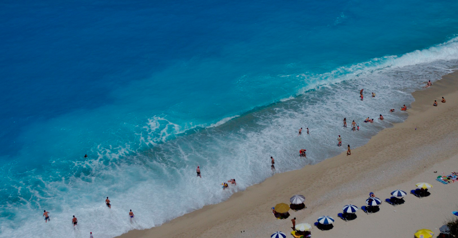 Egremni - The best beach of Lefkada Island