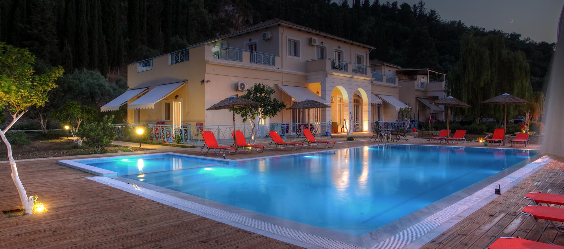 Avra Apartments in Lefkada Island
